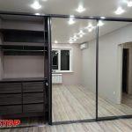 Шкафы-купе на заказ в PITSTOP мебель pitstop64.ru
